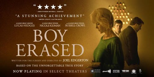 At the Movies: Boy Erased