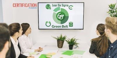 Lean Six Sigma Green Belt (LSSGB) 4-Days Classroom in Guadalupe