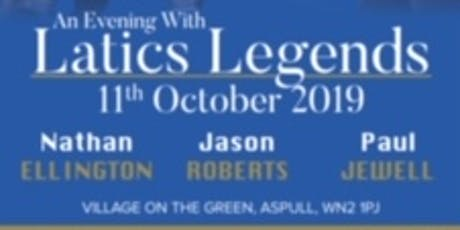 An Evening with Latics Legends tickets