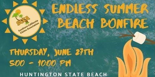 Endless Summer Beach Bonfire Lifeguard Towers 11/12 @ the Newland St. Ramadas