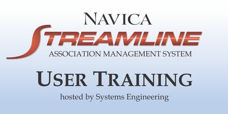 Navica Streamline AMS User Training tickets