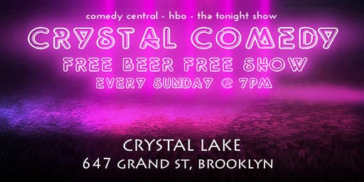 Crystal Comedy | Free Comedy and a Free Drink