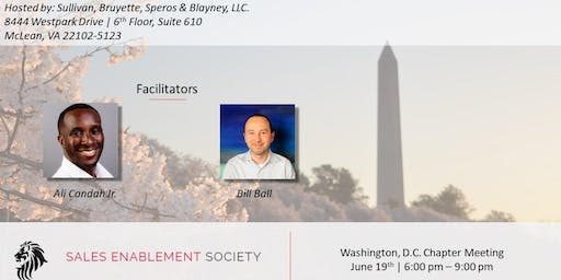 Washington DC Sales Enablement Society Chapter Meeting: How to Focus on the Work that Matters