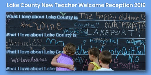 Lake County New Teacher Welcome Reception