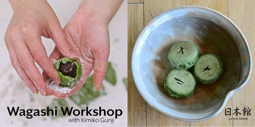 Wagashi Workshop with Kimiko Gunji