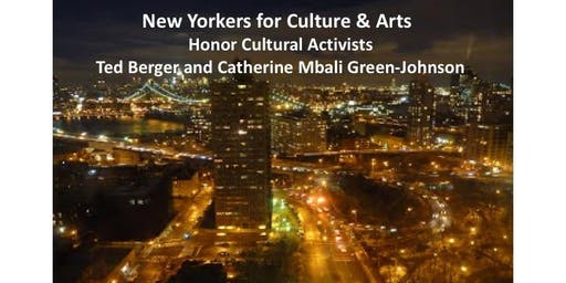 NewYorkers 4 Culture & Arts honor Ted Berger, Catherine MBali Green-Johnson