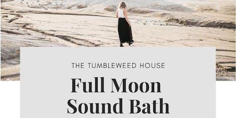 Full Moon Sound Bath  tickets