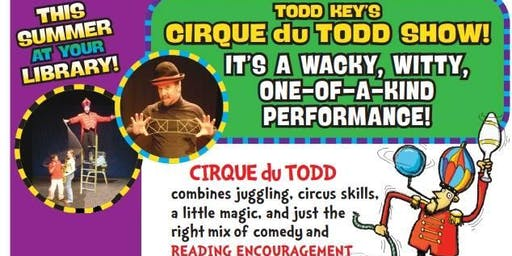 Todd Key Show (Juggler) 10am