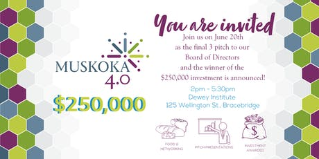 Muskoka 4.0 Pitch Event tickets
