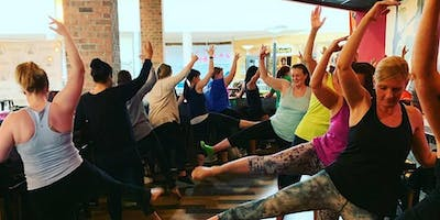 Yoga/Barre at the Barre