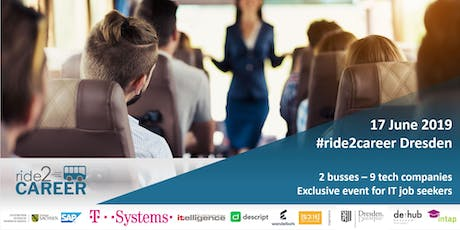ride2career - IT bus tour to Dresden´s tech companies Tickets