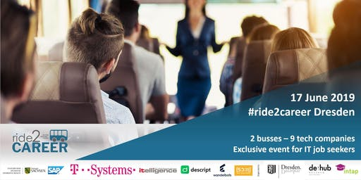ride2career - IT bus tour to Dresden´s tech companies