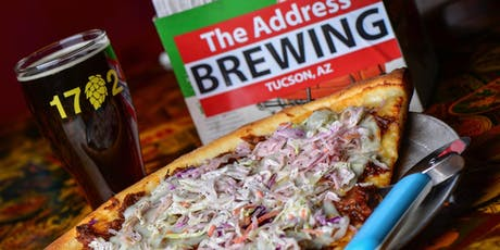 """""""MALT WITMAN"""" SPECIALTY BEER TASTING & PIZZA PARTY AT 1702 PIZZA AND BEER tickets"""