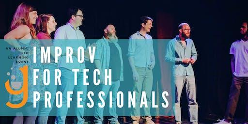 Improv for Tech Professionals