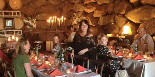 Winemaker's Dinner  in the Cave