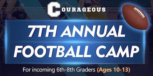 7th Annual Free Football Camp