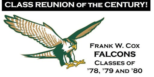 Frank W. Cox High School 78 79 80 Class Reunion