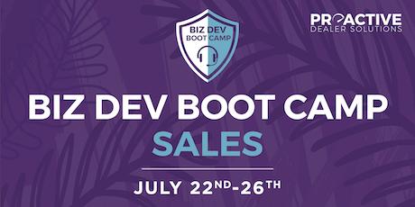 July - Biz Dev Boot Camp Sales tickets