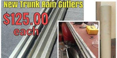 Auto/Car CHEVY Trunk Rain Gutters