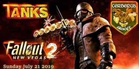 Fallout New Vegas 2 tickets