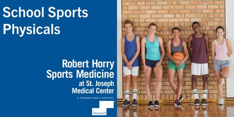 St. Joseph Medical Center School Sports Physicals 2019 tickets