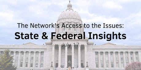 Access to the Issues: State & Federal Insights tickets