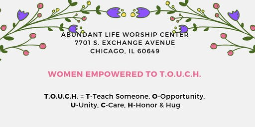 June's Women Empowered to T.O.U.C.H.