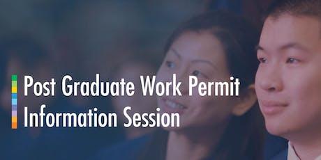 Post Graduate Work Permit Workshop (Casa Loma) 2019 June 26 tickets