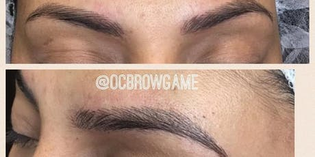 MICROBLADING TRAINING OC BROW GAME tickets