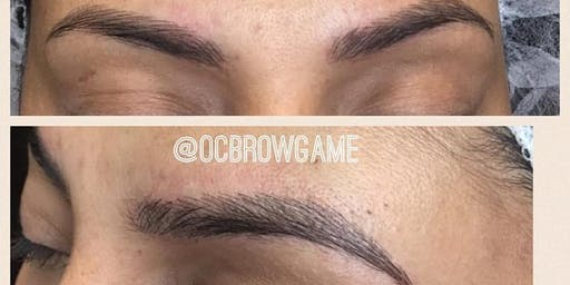 MICROBLADING TRAINING OC BROW GAME
