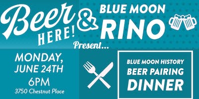 Blue Moon History- Beer Pairing Dinner