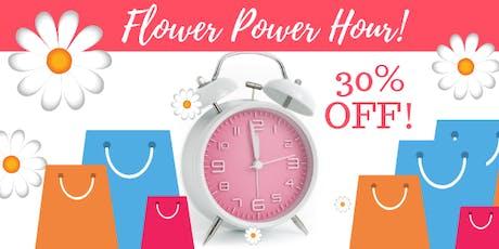 Flower Power Hour tickets