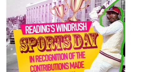 22nd June: Reading's Windrush Sports Day tickets