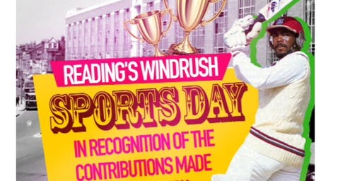 22nd June: Reading's Windrush Sports Day