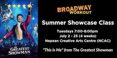 Broadway Workout - Summer Showcase