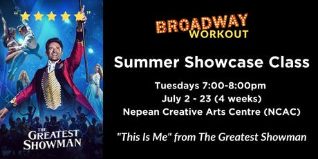 Broadway Workout - Summer Showcase tickets