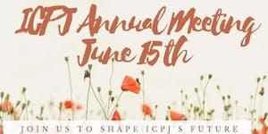 ICPJ Annual Meeting June 15, 2019
