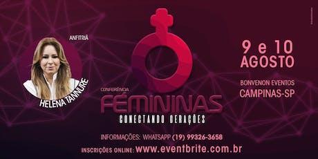 Conferência Femininas - CAMPINAS, SP ingressos