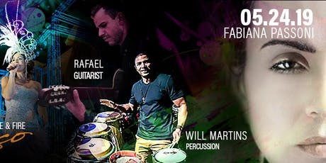 LIVE BRAZILIAN MUSIC - FABIANA PASSONI tickets