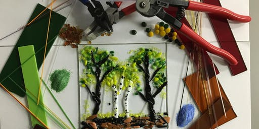 Fused glass Tile Fun Intro Class-Aug
