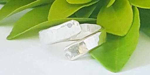 Make your own sterling silver Wrap ring
