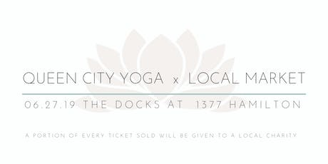 Queen City Yoga  X  Local Market tickets