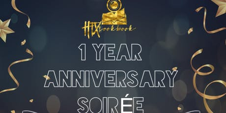 HTXLOOKBOOK ONE YEAR ANNIVERSARY COCKTAIL SOIREE tickets