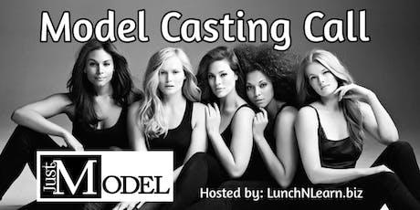 JustModel: Model Casting Call tickets