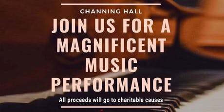 Charity Concert at Channing Hall by AYLUS and Rescue Music Foundation tickets