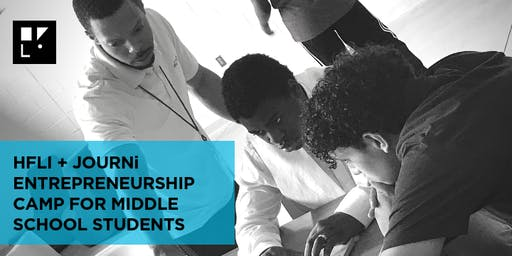 HFLI + JOURNi STEAM Lab Youth Entrepreneurship Camp