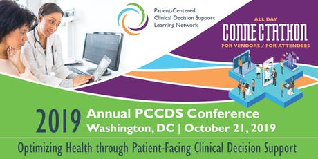 2019 Annual Patient-Centered Clinical Decision Support Learning Network Conference and Connectathon tickets