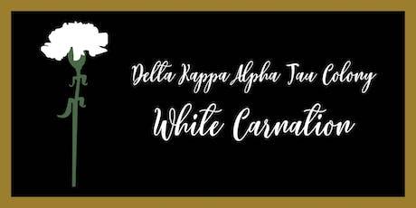 DKA White Carnation Formal tickets