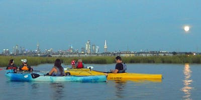 Hackensack Riverkeeper's Moonlight Paddles 9/14/2019 (Full Moon)