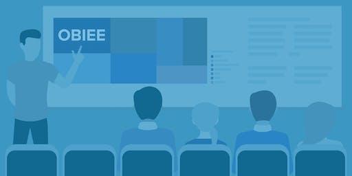TRN902: OBIEE 12c Bootcamp (Remote and In-Class Alpharetta, GA November 2019)